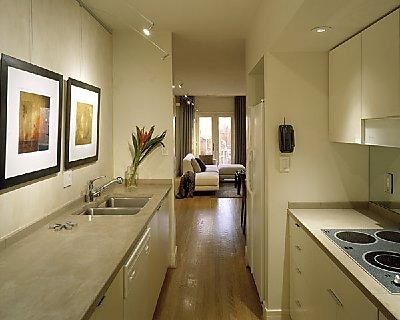 All Amazing Designs: Galley Warm materials Galley kitchen layout ideas housetohome. Designs - Narrow Galley Kitchen Ideas