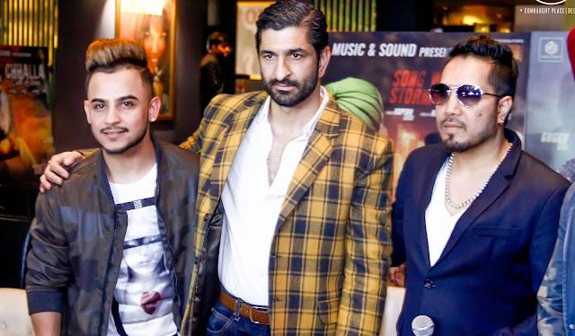 Milind Gaba, Daljeet Kalsi and Singer Mika