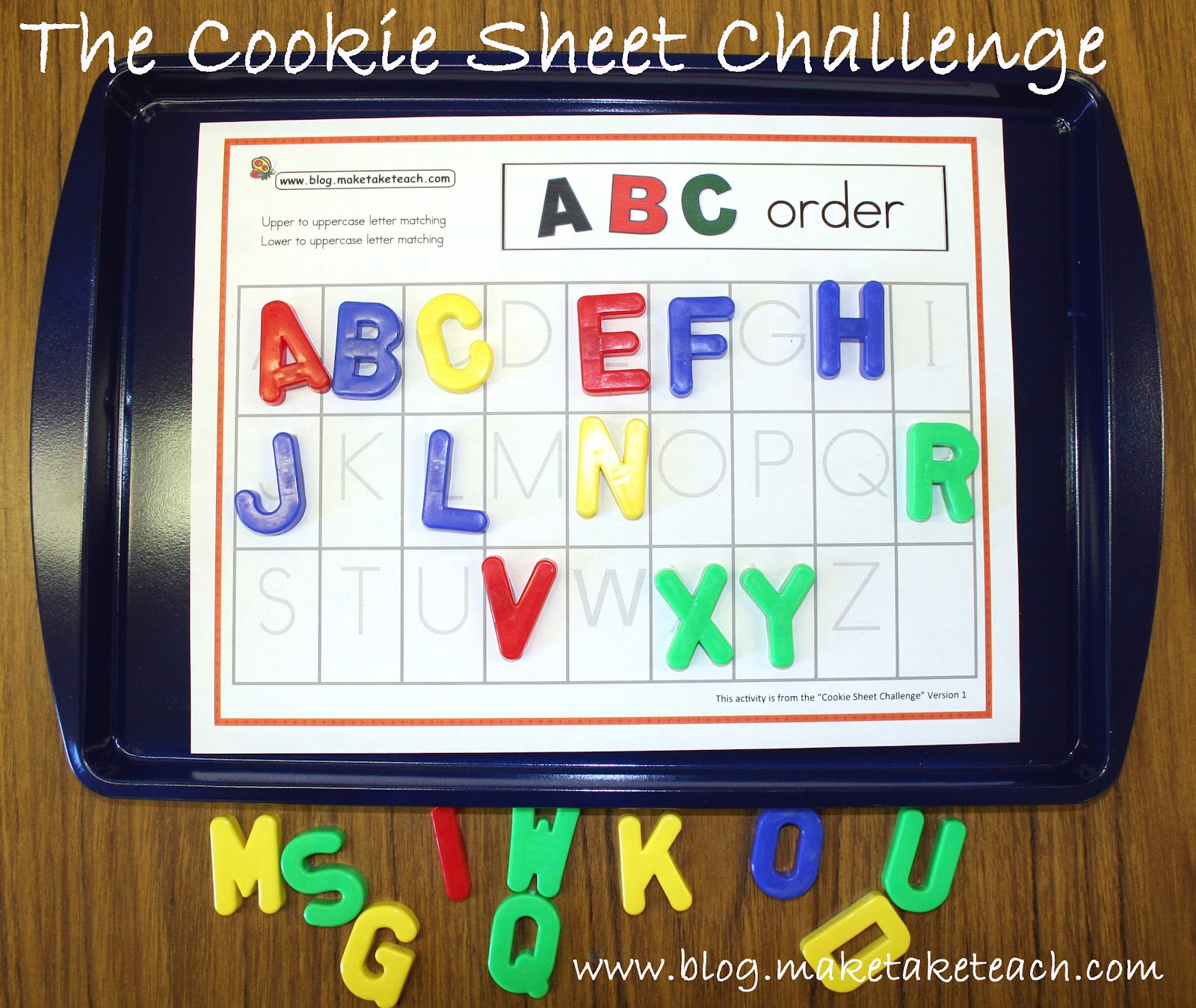 Classroom Freebies Too The Cookie Sheet Challenge