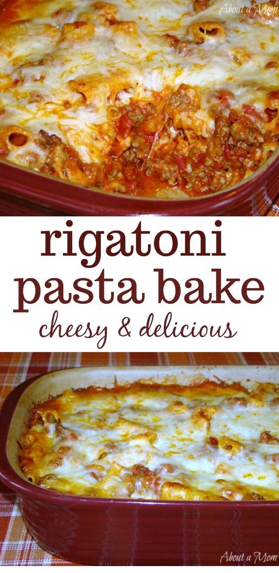 Rigatoni Pasta Bake