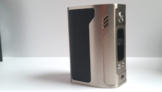 The Wismec Reuleaux RX300 TC Box Mod is large and powerful