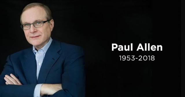 Công ty đầu tư Vulcan của Paul Allen đã thông báo về sự ra đi của ông