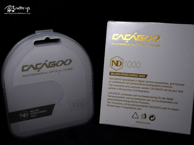 Cacagoo Pro ND1000, Ultra Slim Nano Multi Coated Schott Glass Filter