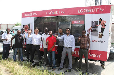 LG OLED TV and TWINWash, Unlimited Possibilities For A Better Life