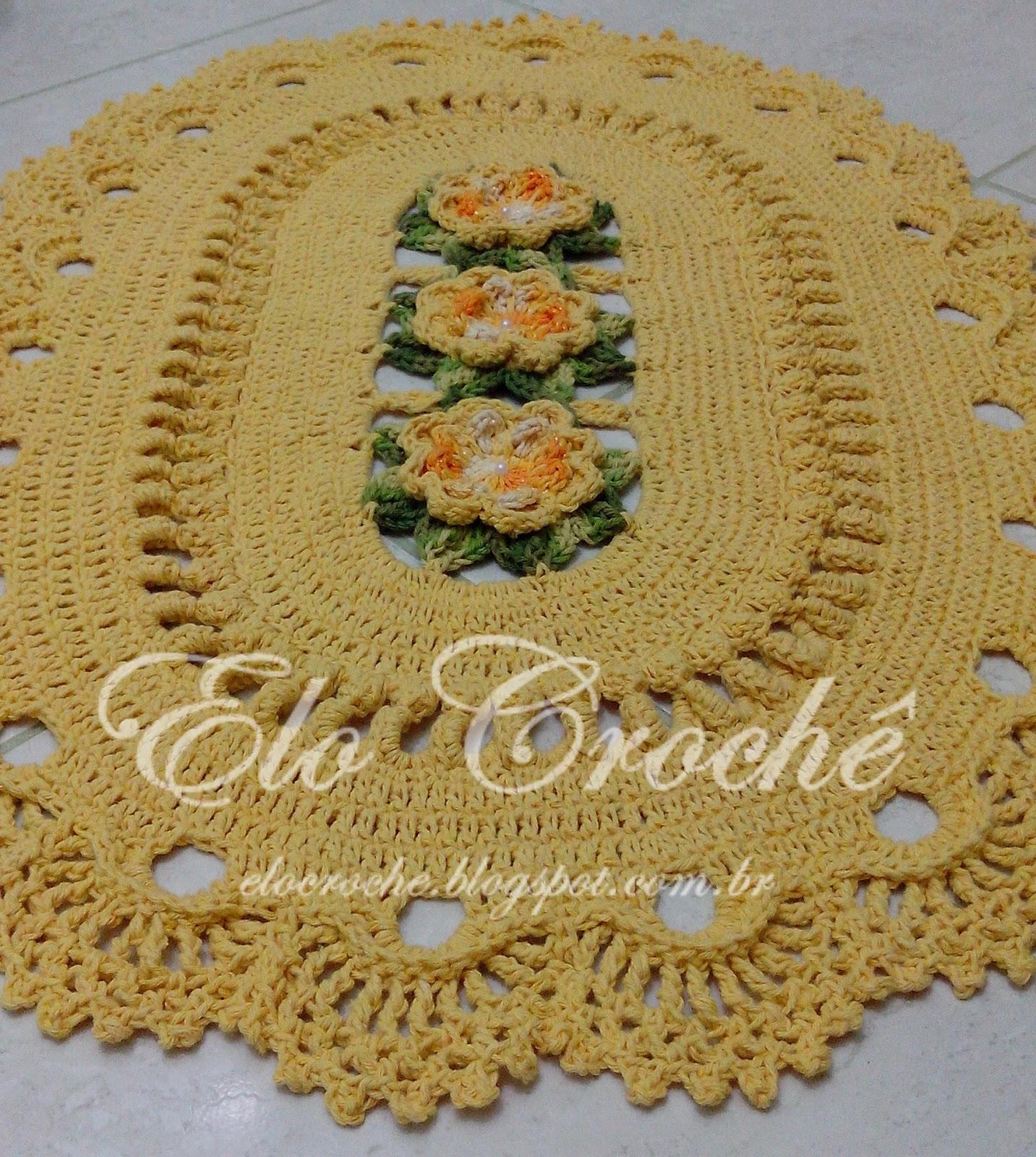 Elo Crochê by Eloiza Castro: JOGO DE BANHEIRO DE CROCHÊ LUXO  #6C4619 1433 1600