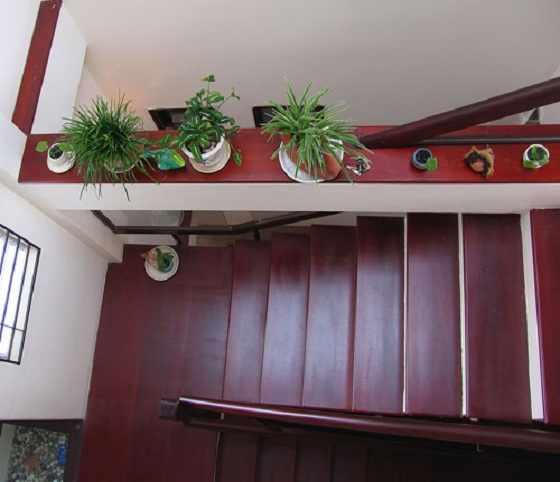 Cách trang trí bậc tam cấp cầu thang
