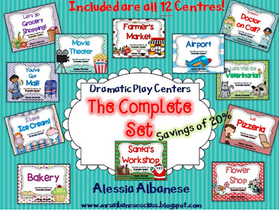 https://www.teacherspayteachers.com/Product/Dramatic-Play-Centers-The-Complete-Set-1249217
