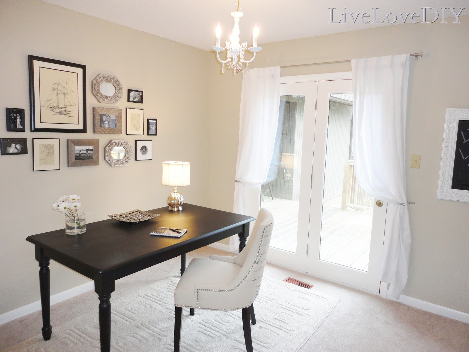 Remodelaholic | Home Office Makeover