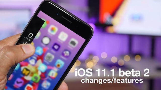 ما الجديد فى iOS 11 بيتا 2