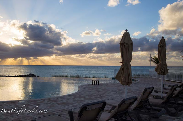 Bimini Sands infinity pool