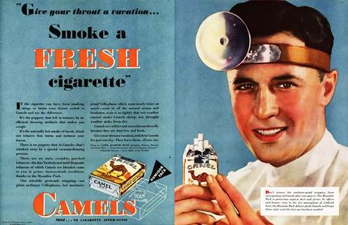 iklan doktor promosi rokok jenama camel