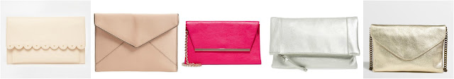 ASOS | Rebecca Minkoff | New York & Co | Sole Society | J. Crew Factory clutches for a wedding