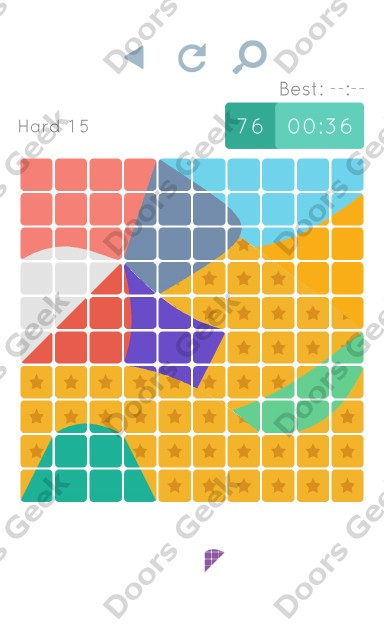 Cheats, Walkthrough for Blocks and Shapes Hard Level 15