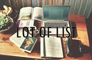 LOT OF LIST!
