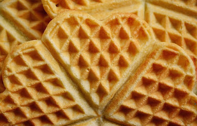 heart waffles recipe