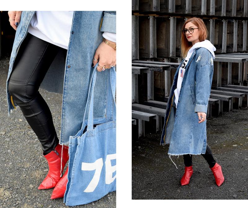 wie style ich rote Schuhe, was passt zu roten Schuhen