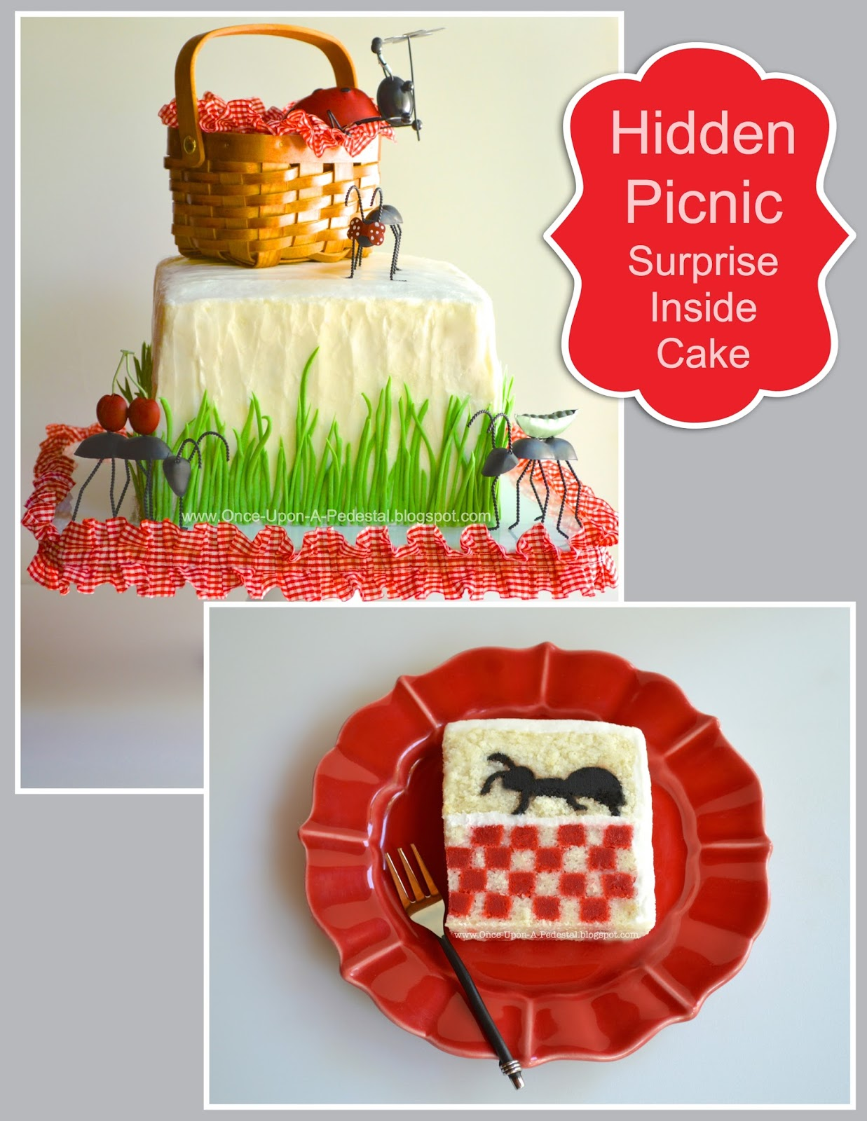 Once Upon A Pedestal Surprise Inside Picnic Ant With