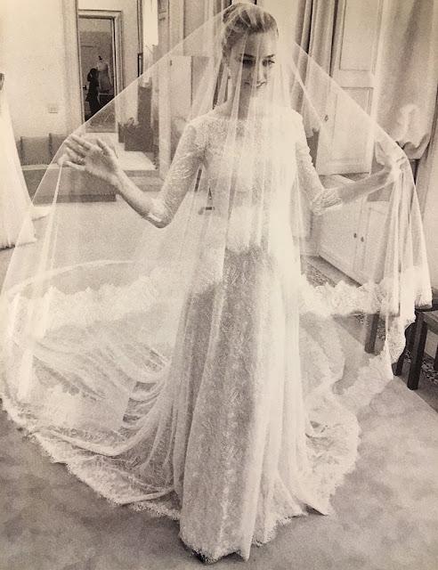Pregnant Beatrice Borromeo wedding dress, Armani wedding dress, Beatrice Borromeo wedding ceremony