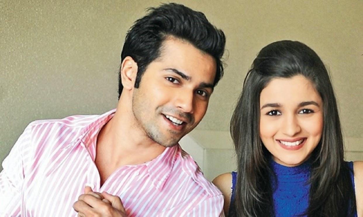 Beautiful Couple Varun Dhawan And Alia Bhatt Hd Wallpaper Free
