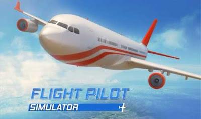 Flight Pilot Simulator 3D Apk + Mod (Money/Coin) for Android Offline