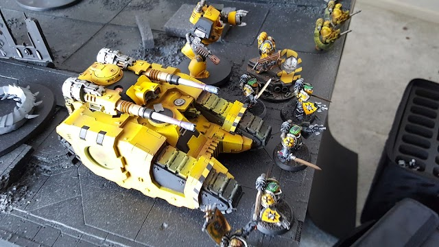 What's On Your Table: Horus Heresy Imperial Fists