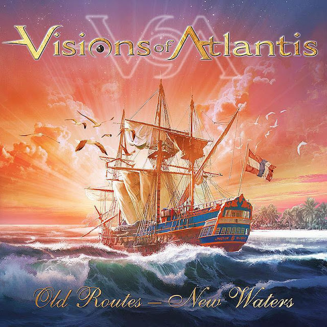 Detail from Visions of Atlantis New EP, Old Routes - New Waters, Detail from Visions of Atlantis New EP Old Routes - New Waters