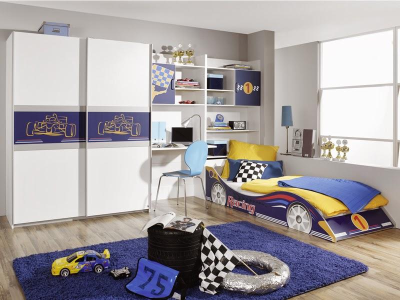 Dormitorios para ni os tema coches dormitorios colores y - Dormitorios de cars ...