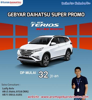 Promo Daihatsu Dp Murah Terios Jakarta 2018