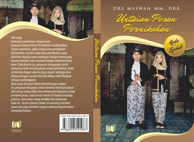 Launching Buku Untaian Pesan Pernikahan di Pernikahan Syihab dan Ayda