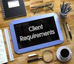 understand client requirment
