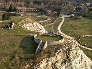 Bukit Golgota tempat Yesus di salib