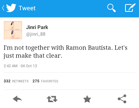 jinri park and ramon bautista in a relationship
