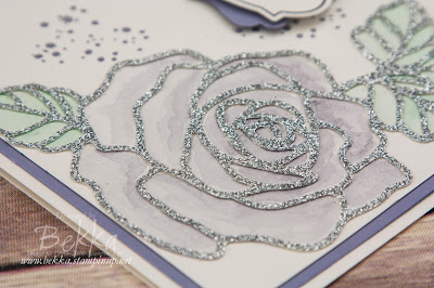 Roses Wedding Wishes Card