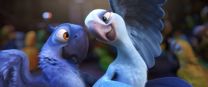 Jewel and Blu Rio 2011 animatedfilmreviews.filminspector.com