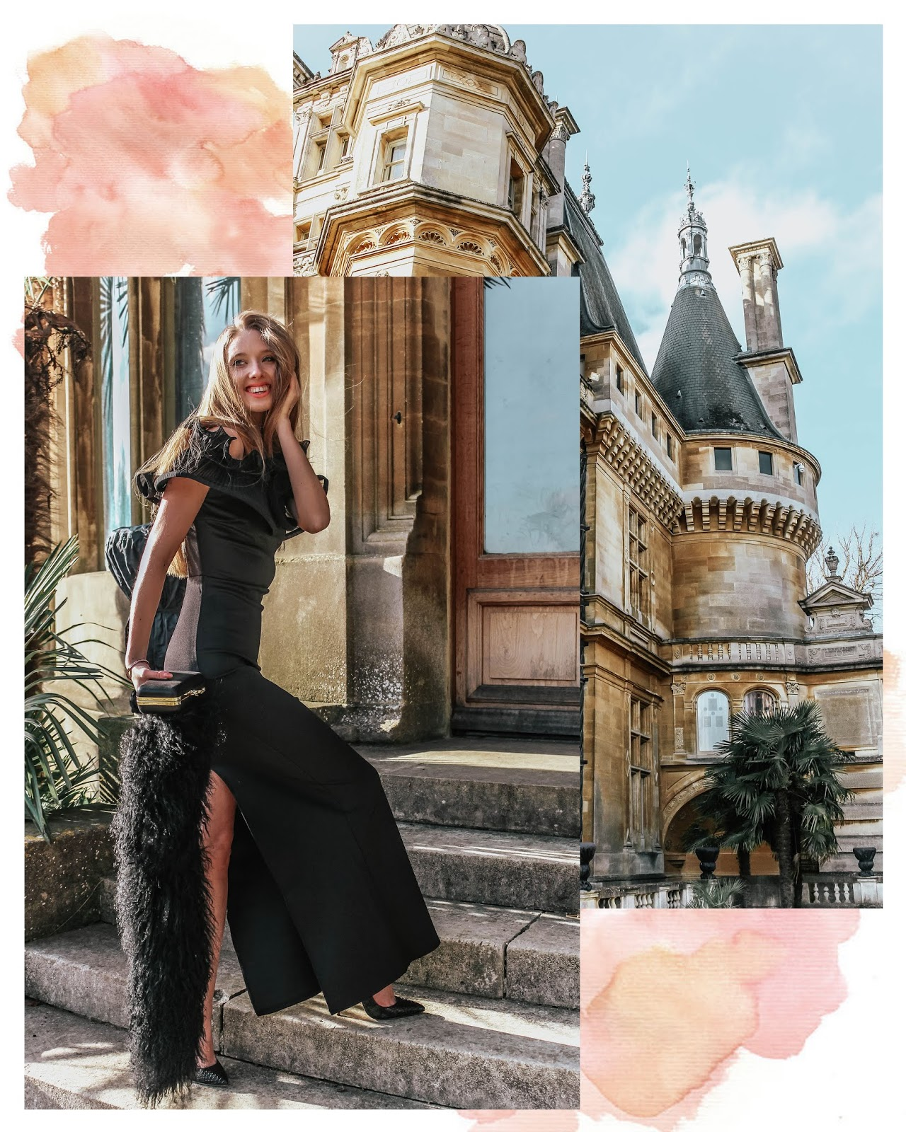 How to Style Black Bardot Evening Gown Special Occasion