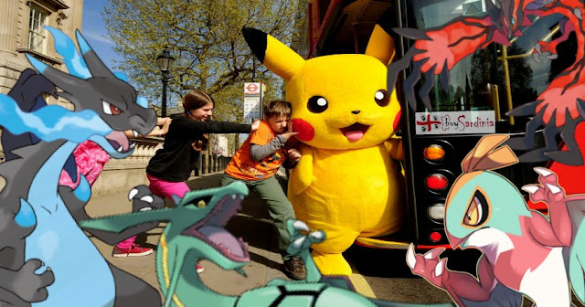 FOTO POKEMON GO IN BUS CON BUYSARDINIA