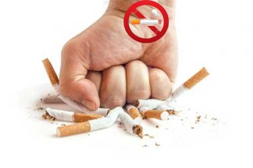 Menghentikan Kebiasaan Merokok