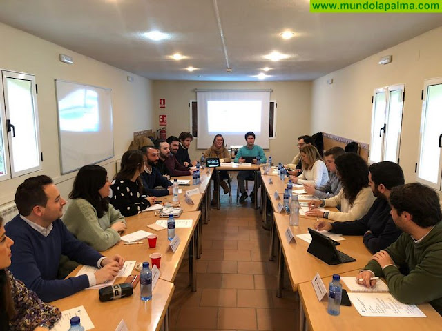 La Palma estará presente en la agenda de trabajo de Nuevas Generaciones