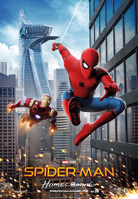 Póster en español de Spider-Man Homecoming