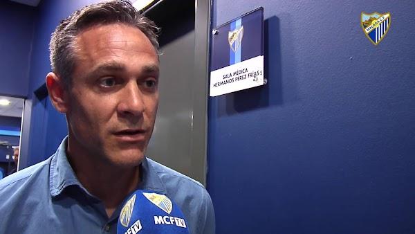 Oficial: Málaga Juvenil A, Nacho Pérez nuevo técnico