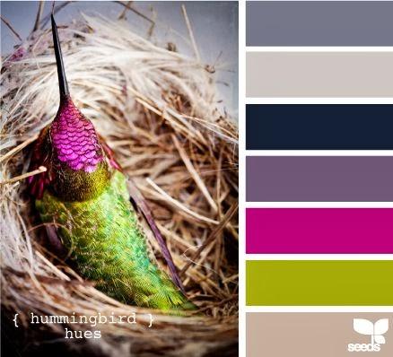 Wedding Colour Scheme Ideas Magenta, Purple & Green Sail and Swan