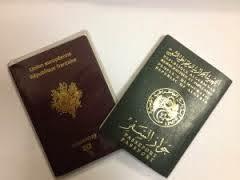Formulaire passeport algerien biometrique