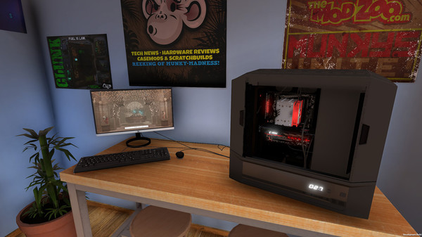 PC Building Simulator Pc Game Free Download Screenshot 2