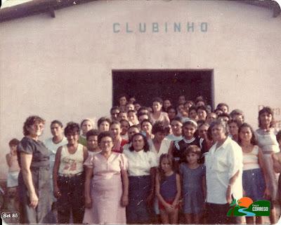 Terezinha Gomes e o clube de mães