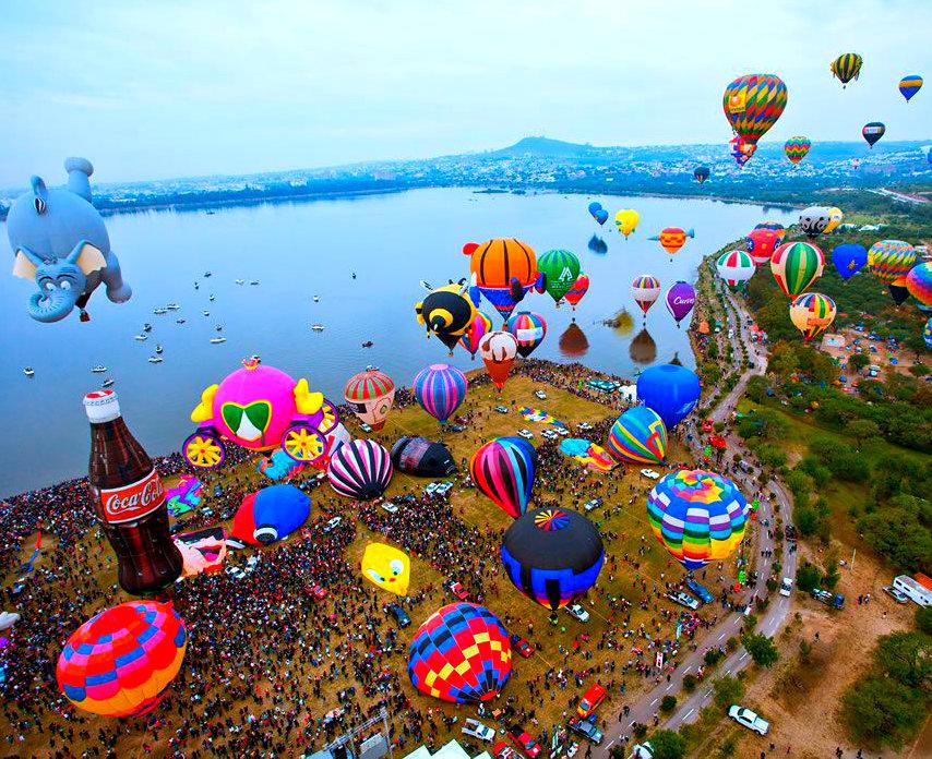 festival del globo leon como llegar