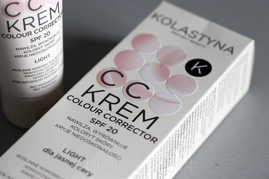 Kolastyna • CC Krem Colour Corrector SPF 20 • Light