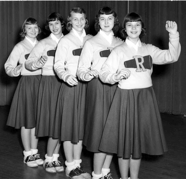 BIKINI AND POM POM GIRLS: CHEERLEADERS IN THE 1950s : OH