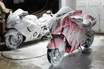 Cuci Motor Pakai SUNLIGHT??