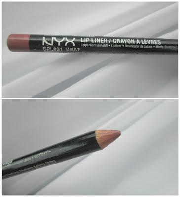 NYX Lip Liner in 'Mauve'