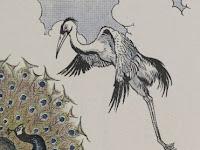 Cerita Pendek Kisah Burung Merak yang Sombong dan Seekor Burung Bangau